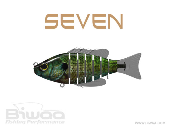 Biwaa Fishing Performance, Hard lures, Seven, Color 24, Blue Gill